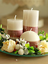 Butterfly Theme Candle Favors-1 Piece/Set Candles Non-personalised White