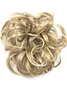 peruk gyllene 6 cm hög temperatur tråd hår cirkel färg 7018
