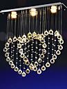 Led 4 Watt Modern Kristall / Flush Mount Lights Elektropläterad Metall LjuskronorLiving Room / Bedroom / Dining Room / Skaka pennan och