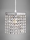 Max 60W Contemporain Cristal / LED / Style mini Plaque Metal Lampe suspendueSalle de sejour / Chambre a coucher / Salle a manger /