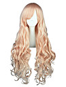 Perruques de Cosplay Macross Frontier Sheryl Nome Rose Long Anime Perruques de Cosplay 80 CM Fibre resistante a la chaleurMasculin /