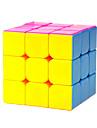 Yongjun® Mjuk hastighetskub 3*3*3 Hastighet Magiska kuber Regnbåge ABS