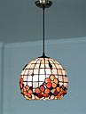 Hängande lampor ,  Tiffany Rektangulär Särdrag for Ministil MetallVardagsrum Sovrum Dining Room Skaka pennan och tryck på spetsen innan