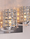 Cristal / Style mini Chandeliers muraux, Moderne/Contemporain Metal
