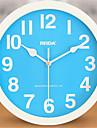 Rond Moderne/Contemporain Horloge murale,Autres Metal 23.5*23.5*5