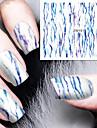 Nail Sticker Nail Art Autocollants de transfert de l\'eau