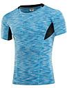 Course / Running Tee-shirt Homme Sechage rapide Anti-transpiration Course/Running Sportif Vetements de sport Rouge Noir Bleu