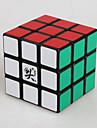 Dayan® Cube de Vitesse  3*3*3 Cubes magiques Noir Zhanchi Anti-pop ressort reglable ABS