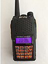 Baofeng UV-6 PLUS Walkie-talkie 7W 128 136-174 mHz / 400-520MHz 1800mAh 1,5-3 kmFM-radio / Röstprompt / Dubbelband / Dubbel display /