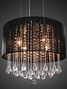 40W Lampe suspendue ,  Contemporain Chrome Fonctionnalite for Cristal MetalSalle de sejour / Chambre a coucher / Salle a manger /