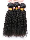 7a cheveux crepus boucles vierge 3 faisceaux / lot, non transformes mongol cheveux boucles faisceaux coquins bon marche de cheveux humains