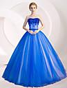 Rochie de mireasa rochie de seara lungime tul de rochie de seara formala cu paiete cu detalii de cristal