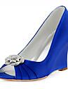 Dame-Pantofi de nunta-Wedges-Tocuri-Nuntă / Rochie / Party & Seară-Albastru / Roz / Bleumarin