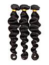 Tissages de cheveux humains Cheveux Indiens Ondulation Lache 3 Pieces tissages de cheveux