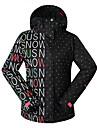 GSOU SNÖ® skidkläder Skid-/snowboardjackor Dam vinter~~POS=TRUNC Polyester vinter~~POS=TRUNCVattentät / Andningsfunktion / Håller värmen