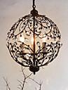 5 Island Light ,  Traditionnel/Classique Peintures Fonctionnalite for Cristal Metal Salle de sejour Salle de jeux