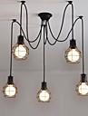 Max 60W Ljuskronor ,  Modern / Traditionell/Klassisk / Rustik/Stuga / Vintage / Kontor/företag / Rustik Målning Särdrag for Ministil