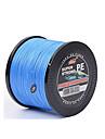 1000 m / 1100 Yards Monofilament Incarnadin / Blanc / Jaune / Gris / Bleu 120lb 0.2 mm Pour Peche generale
