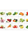 Blommig / Mat Wall Stickers Väggstickers Flygplan Dekrativa Väggstickers,pvc Material Kan tas bort / Kan ompositioneras Hem-dekoration