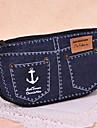 söt jeansshorts stor kapacitet pennfodral
