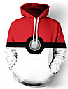 Inspirado por Pokemon Outros anime Cosplay Costumes Hoodies cosplay Estampado Top