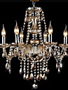 40W Chandelier ,  Modern/Contemporary / Traditional/Classic / Vintage Electroplated Feature for Crystal GlassLiving Room / Bedroom /