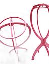 Tetes de Mannequin pour Perruque Accessoires pour Perruques Plastique 1 Outils Perruques