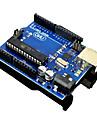 Funduino Uno R3 ATmega 328P - PU ATmega 16U2-kretskort till Arduino