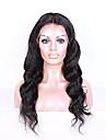 brazilian dentelle de cheveux humains perruque avant couleur naturelle vague de corps densite 8a de 130% avec les cheveux de bebe