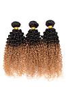 A Ombre Cheveux Indiens Tres Frise 3 Pieces tissages de cheveux