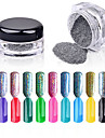1PCS Shinning Mirror Mermaid Nail Glitter Powder Gorgeous Nail Art Chrome Pigment Glitters