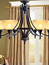 5 Ljuskronor ,  Rustik/Stuga Målning Särdrag for Ministil Metall Living Room / Bedroom / Dining Room