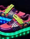 Lila-Platt klack-Flickor-Komfort / Rund tå-Textil-Utomhus-Sneakers