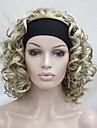 La moitie perruque Perruques pour femmes Blond Perruques de Costume Perruques de Cosplay