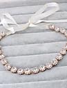Femei Imitație de Perle Diadema-Nuntă Ocazie specială Informal Exterior Cordeluțe 1 Bucată