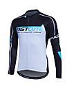 Fastcute® Maillot de Cyclisme Femme / Homme / Enfant / Unisexe Manches longues VeloRespirable / Sechage rapide / Zip frontal / Zipper YKK