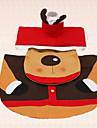 3st jul rådjur toalett dekoration sittunderlag tanklocket och matta badrum inomhus hem gåva