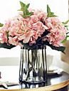 5 Une succursale Soie Hortensias Fleur de Table Fleurs artificielles 46CM
