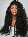 Perruque Dentelle Perruques pour femmes Noir Naturel (#1B) Perruques de Costume Perruques de Cosplay