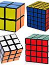 Shengshou® Cube de Vitesse  2*2*2 3*3*3 4*4*4 5*5*5 Vitesse Cubes magiques Noir PVC