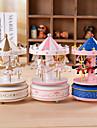 la boite a musique de carrousel et petite boite de top modele star cone cadeau classique d\'anniversaire