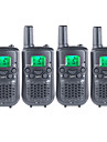 T899462C2P Walkie-talkie 0.5W 22 Channels 400-470 mHz AAA alkaline battery 3-5 kmVOX / bakgrundsbelysning / Kryptering / Varning för låg