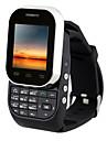"""Kenxinda w1 ≤3 """" Android 5,1 Armbandsur telefon (Enkelt sim Övrigt 0.8 MP <256MB + N/A Svart / Vit)"""