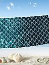 Strand handduk Enligt bilden,Reaktiv Tryck Hög kvalitet 100% Mikrofiber Handduk