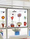 Trä/löv Modern Fönsterklistermärke,PVC/Vinyl Material fönster~~POS=TRUNC