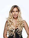 1b / blond couleur ombre femmes ondes longues perruques perruques refractaires