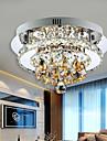 20Watt Montage du flux ,  Contemporain Chrome Fonctionnalite for Cristal / LED MetalSalle de sejour / Chambre a coucher / Salle a manger