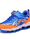Garcon-Decontracte-Bleu / Rouge-Talon Plat-Confort-Chaussures d\'Athletisme-Synthetique