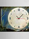 Rektangulär Modern Väggklocka , Andra Kanvas 35 x 50cm(14inchx20inch)x1pcs/ 40 x 60cm(16inchx24inch)x1pcs/ 50 x 70cm(20inchx28inch)x1pcs