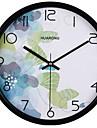 Moderne/Contemporain / Decontracte Famille Horloge murale,Rond Metal 20*20*3 Interieur/Exterieur / Interieur / Exterieur Horloge